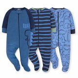 Vestito di sonno del neonato di Onesies con il pagliaccetto lungo del manicotto