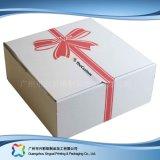 Nahrungsmittelverpackungs-Papierkasten für Mond-Kuchen mit Einlage (XC-1-037)