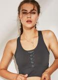 La conception de la Croix de ruban de femmes Sportwear respirant l'exécution de Yoga Haut Soutien-gorge