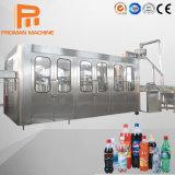bevanda gassosa completamente automatica 3-in-1 che riempie elaborando prezzo gassoso dell'imbottigliatrice della bevanda della spremuta della linea di produzione/dell'acqua bottiglia della piccola scala