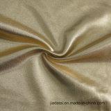 نوع ذهب مضيئة طبعة [فويلد] على نوع ذهب مغزول بوليستر [سبندإكس] [سويمسويت] بناء
