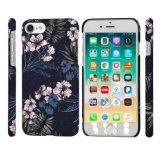 Mobile del reticolo di fiore del nero di stampa/cassa cellulari pieni caldi telefono delle cellule per il iPhone (6/7/8/6s/8s/X Plus/Xs Max/Xr/Xs/8plus)
