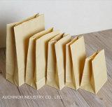 Sacco di carta ecologico di imballaggio di pane con la finestra di plastica