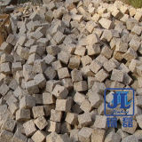 G682 포석 입방체 돌 화강암 돌