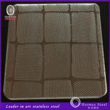 装飾的な壁パネルのための新製品のステンレス鋼の浮彫りにされたシート