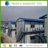 Niedrige Kosten-Stahlrahmen-vorfabrizierter Arbeitslager-Aufbau