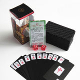 Plastic Mahjong Playing Cards / PVC Poker Playing Cards