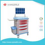 Carro do Anaesthesia do ABS de Ce/ISO/trole do Anaesthesia/carro do hospital