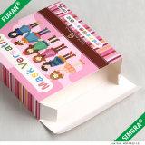 Kundenspezifischer kosmetischer Gesichtsschablonen-Papier-Verpackungs-Kasten