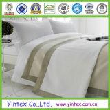 白く柔らかい1200tc 100%のエジプト綿のホテルの寝具シートセット
