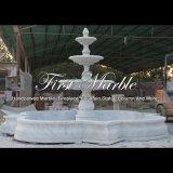 Fontaine de marbre blanche pour un cadeau Mf-987