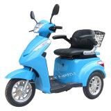500W/700W 3 roue désactivé electric scooter de mobilité pour les personnes âgées