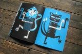 Цифровая печать офсетной печати Цветной яркий журнал печати