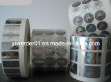 Holograma de diseño personalizado de embalaje en rollo pegatinas (H-021)