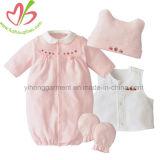 Romper bébé nouveau-né de coton d'hiver de vêtements de bébé