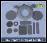 Disco de aço tecido do filtro de /Stainless do filtro de engranzamento do fio do aço inoxidável