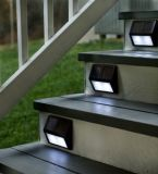 4 o 8 LED de pared de luz solar con sensor de movimiento de la pared, pasillos, escaleras, valla, la iluminación de la puerta