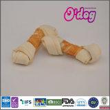 Odog는 개밥을%s 생가죽에 의하여 매듭을 짓 닭 뼈를 표백했다