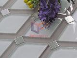 Mattonelle di mosaico di vetro del getto di acqua del Rhombus (CFW56)