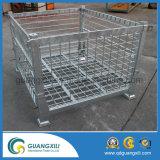 Envase plegable del rodillo del acoplamiento de alambre del almacenaje del almacén en tipo de elevación