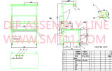 SMT PCBA 생산 라인 해결책 (SMT printer+SMT 후비는 물건과 장소 machine+reflow 오븐)