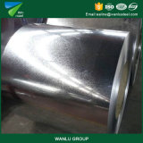 Bobina de acero galvanizada sumergida caliente para la hoja del material para techos