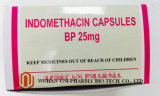 Indomethacin 25 Mg Cápsula Medicina Terminada, Tratamento de Artrite Reumatóide Tratamento da Dor Killer