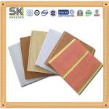 Material interior del panel de PVC para techo