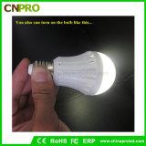 7W 플라스틱 긴급 LED 전구