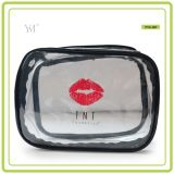 Sac de renivellement d'article de toilette de Madame Promotional Women Clear PVC Cosmetic de qualité