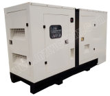 generador diesel silencioso estupendo 80kVA con el motor 1104A-44tg2 de Perkins