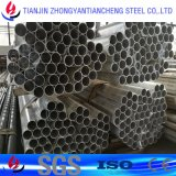 tubulação de alumínio anodizada 6063 6061 no estoque de alumínio da tubulação