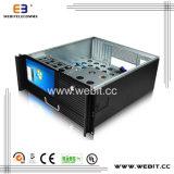 LCD 스크린 키보드를 가진 엇바꾸기 전력 공급을%s 4u ATX 케이스