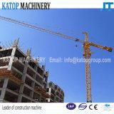 Grue à tour de déplacement populaire de l'exportation Tc5516 pour des machines de construction