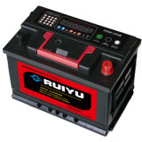 batteria automatica acida al piombo accumulatore per di automobile del piatto SMF del calcio di alta qualità di 12V Corea 66ah (DIN66)