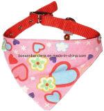 OEM Produce Customized Logo imprimé en coton promotionnel triangle écharpe pour animaux de compagnie
