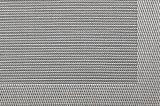 Matéria têxtil antiderrapagem Placemat da isolação de prata do Weave do jacquard para o Tabletop & o revestimento