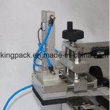 Полуавтоматная плоская машина для прикрепления этикеток стикера