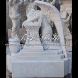 Marmeren Grafsteen mem-286 van Metrix Carrara van het Graniet van de Steen Herdenkings