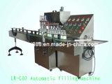 Máquina de rellenar de la botella de cristal del champú del jugo automático de la bebida