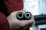 Tuyau caoutchouc pour vibreur béton / pompe submersible
