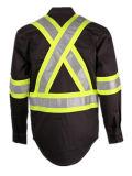 Certificados UL Retardador de llama y camisa de protección de soldadura de flash de arco