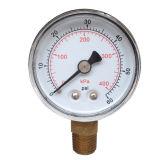 indicateur de pression en laiton de bas de connexion de boîtier plastique de 2inch-50mm