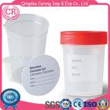 Contenitore di plastica a gettare 60ml della tazza dell'urina