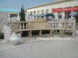 Бежевые каменные таблицы мрамора скульптуры (SY-T002)