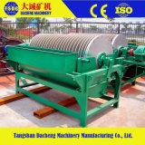 Separador magnético permanente do cilindro molhado do minério da máquina de mineração