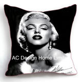 Decorative Public garden Marilyn Monroe Design Decoration Fabric Cushion W/Filling