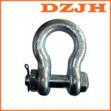 China Manufacturing Lifting D Ring Anchor Shackle