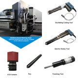 China-gutes Zeichen Ruizhou lederne CNC-Ausschnitt-Maschine für Verkauf