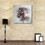 Olieverfschilderij van een Hoofd van het Paard
